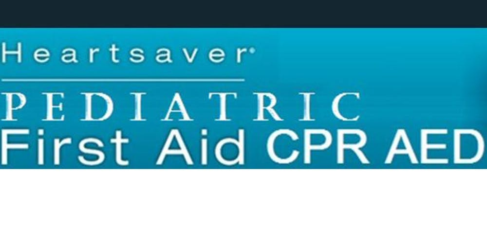 American Heart Association Heartsaver Pediatric First Aid Cpr Aed