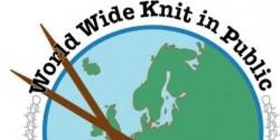 Worldwide Knit in Public Day with Seeded & The Rebel Yarnstormers - 8th June 2019