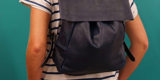 Make a Leather Backpack in a Day