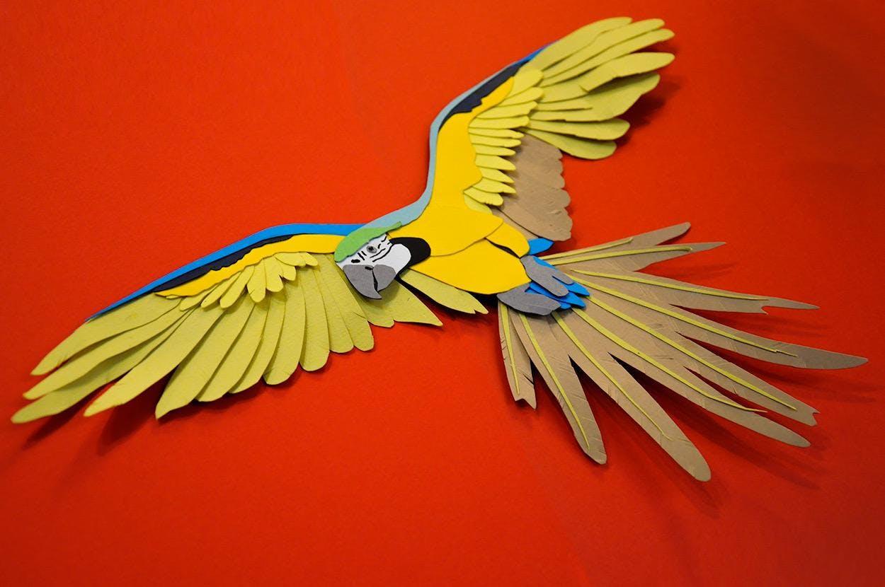 3D Paper-craft Artwork