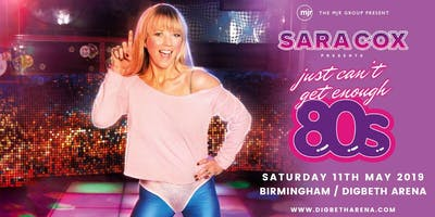 Sara Cox Just Can Enough Digbeth Arena Birmingham