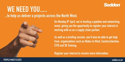 Seddon Pipeline and Networking Event (8th April 2019)