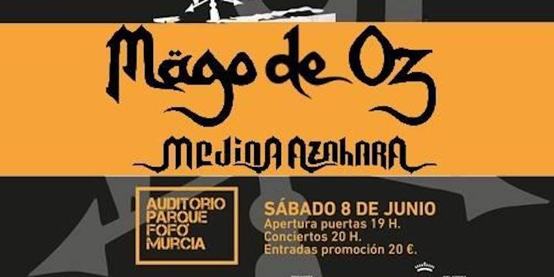 Festival Cruce de Caminos en Murcia Mago de Oz y Medina Azahara