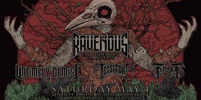 Ravenous CD Release w/ Untimely Demise, Tessitura & Tyrant