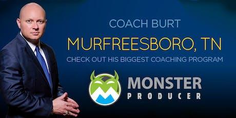 Monster Producer July Murfreesboro Early Bird tickets