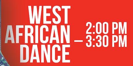 West African Dance  tickets