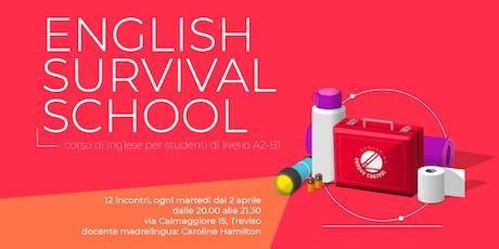 English Survival School - corso di Inglese (A2-B1) biglietti