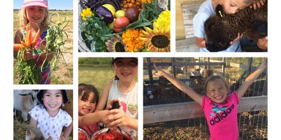 WK 1 - Full Day Farm Camp (5yr olds ONLY) Art, Animlas, Jam Making & more!