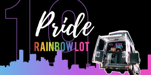 Rainbow Lot - Official Pride Tailgating Lot