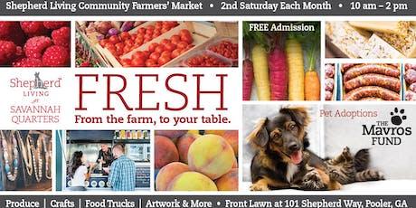 Shepherd Living Community Farmers' Market tickets