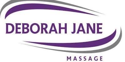 Excel at Deborah Jane Massage 13th May 2019