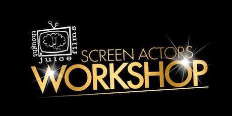 Screen Acting Workshop tickets