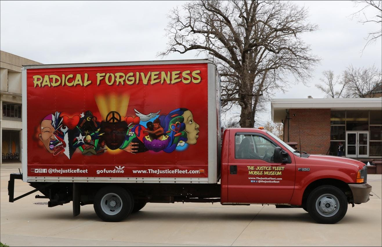 Radical Forgiveness: A public talk on fostering healing through art, dialogue, play