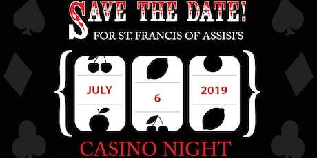 SFA Casino Night 2019 tickets