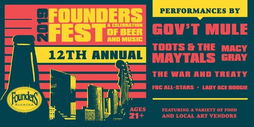 Founders Fest 2019 :: A Celebration of Beer and Music