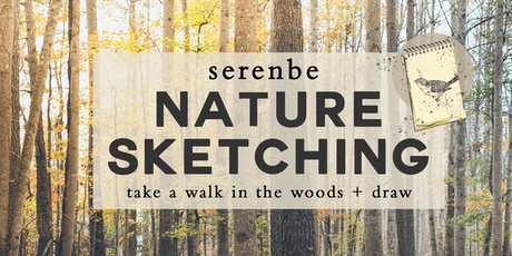 Nature Sketching at Serenbe | Take A Walk In The Woods tickets