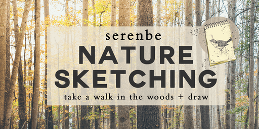 Nature Sketching at Serenbe | Take A Walk In The Woods