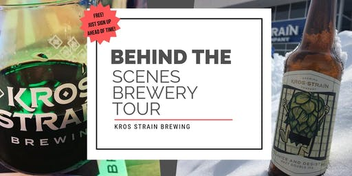 Behind The Scenes Brewery Tour