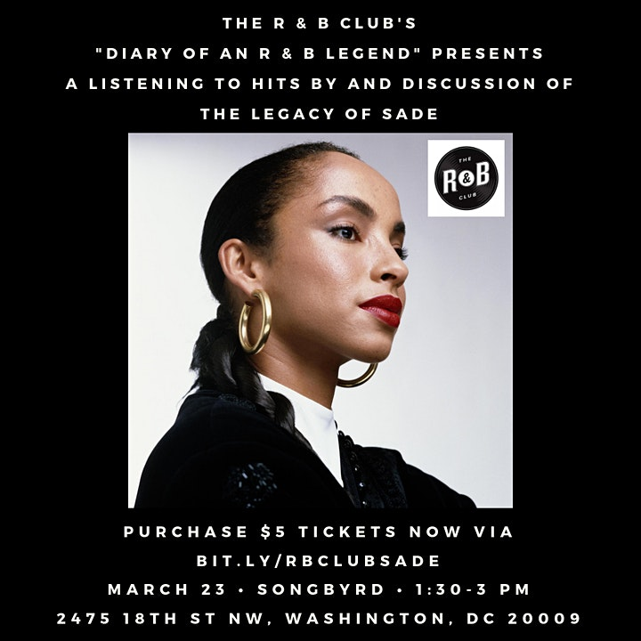 Diary of an R&B Legend: The Legacy of Sade image