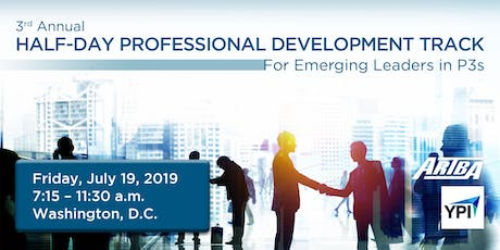 Half-day Professional Development Track for Emerging Leaders in P3s tickets