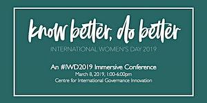 Know Better, Do Better: An International Women's Day...
