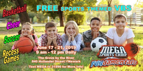 Mega Sports Camp 2019 tickets