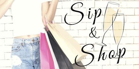 First Sunday Sip & Shop tickets