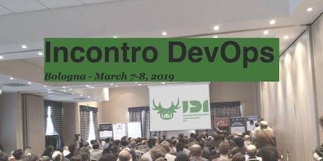 Incontro DevOps Italia 2020 (IDI2020) biglietti