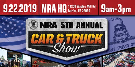 5th Annual NRA Car & Truck Show tickets