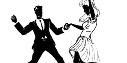 Black & White Swing Dance