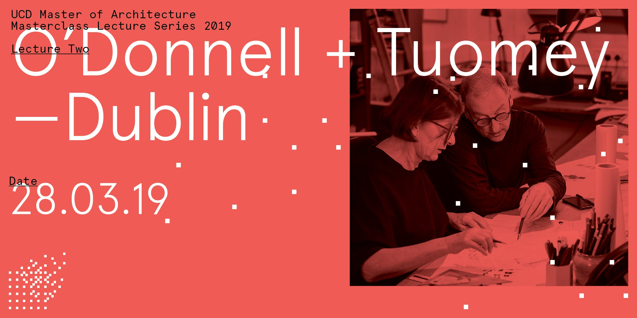 O Donnell + Tuomey - UCD Master of Architecture Lecture Series : 2