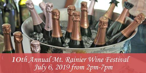 10th Annual Mt Rainier Wine Festival