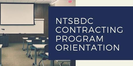 North Texas SBDC Contracting Program Orientation  tickets