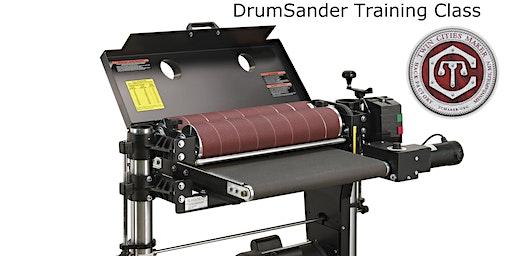TC Maker Drum Sander Training