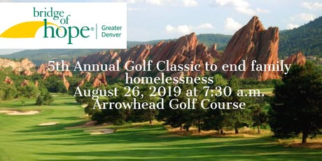 5th Annual Bridge of Hope Greater Denver Golf Classic tickets