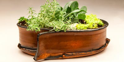 Ceramic Succulent Planter Making and Planting Workshop with Baltimore Clayworks
