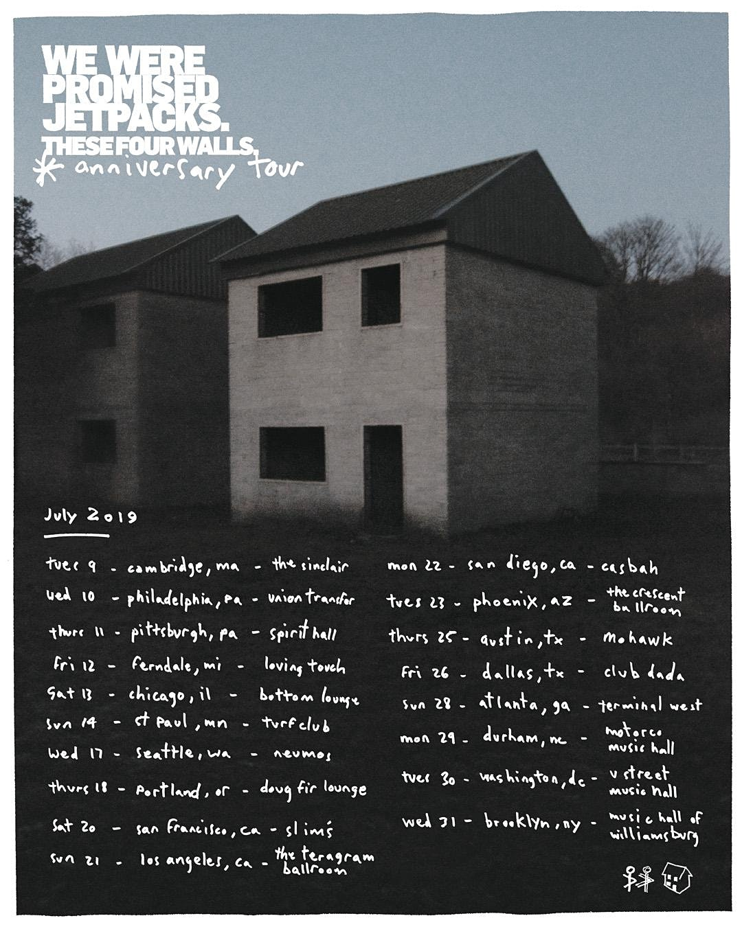 We Were Promised Jetpacks 'These Four Walls' 10th Anniversary