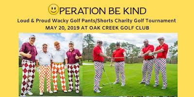 Loud & Proud Wacky Golf Pants/Shorts Charity Golf Tournament Presented by Elite Logistics