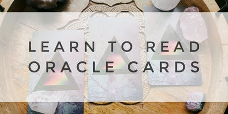 Learn to Read Oracle/Angel Cards tickets