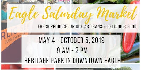 Eagle Saturday Market tickets