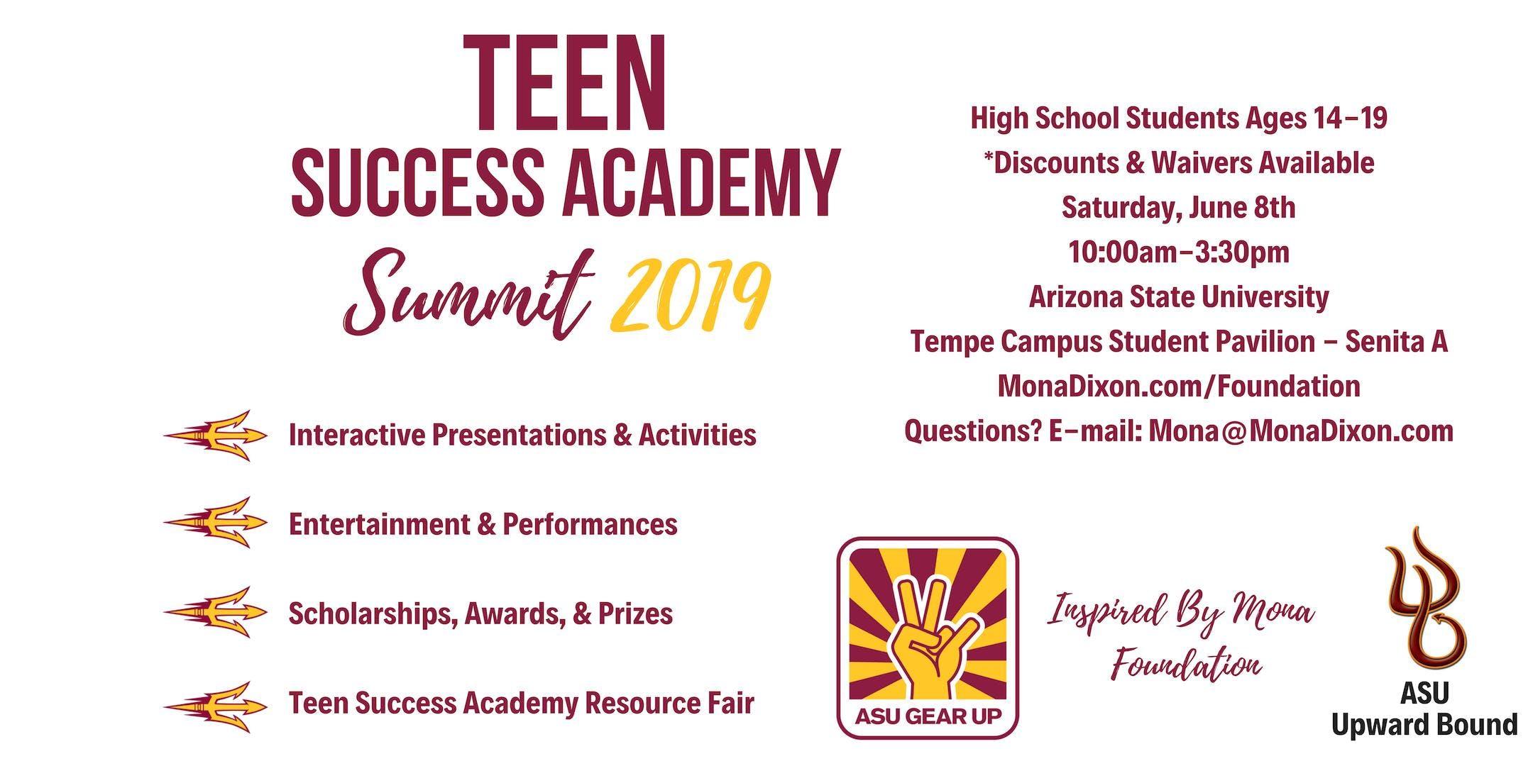 Teen Success Academy Summit 2019