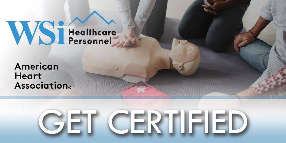 Aha Cpr Bls Healthcare Provider Class Denver Q1 Tickets Multiple