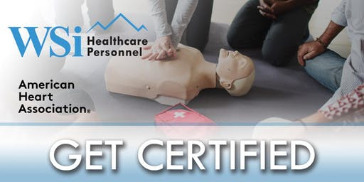 AHA CPR BLS Healthcare Provider Class Colorado Springs Q2