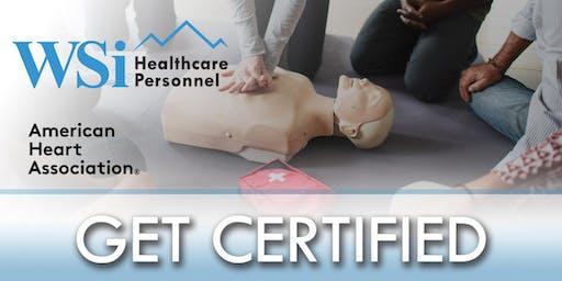 AHA CPR BLS Healthcare Provider Class Colorado Springs Q3