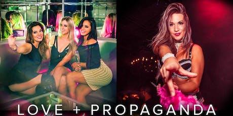 A Night at Love+Propaganda: best top 40 dance club in SF tickets