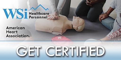AHA CPR BLS Healthcare Provider Class Denver
