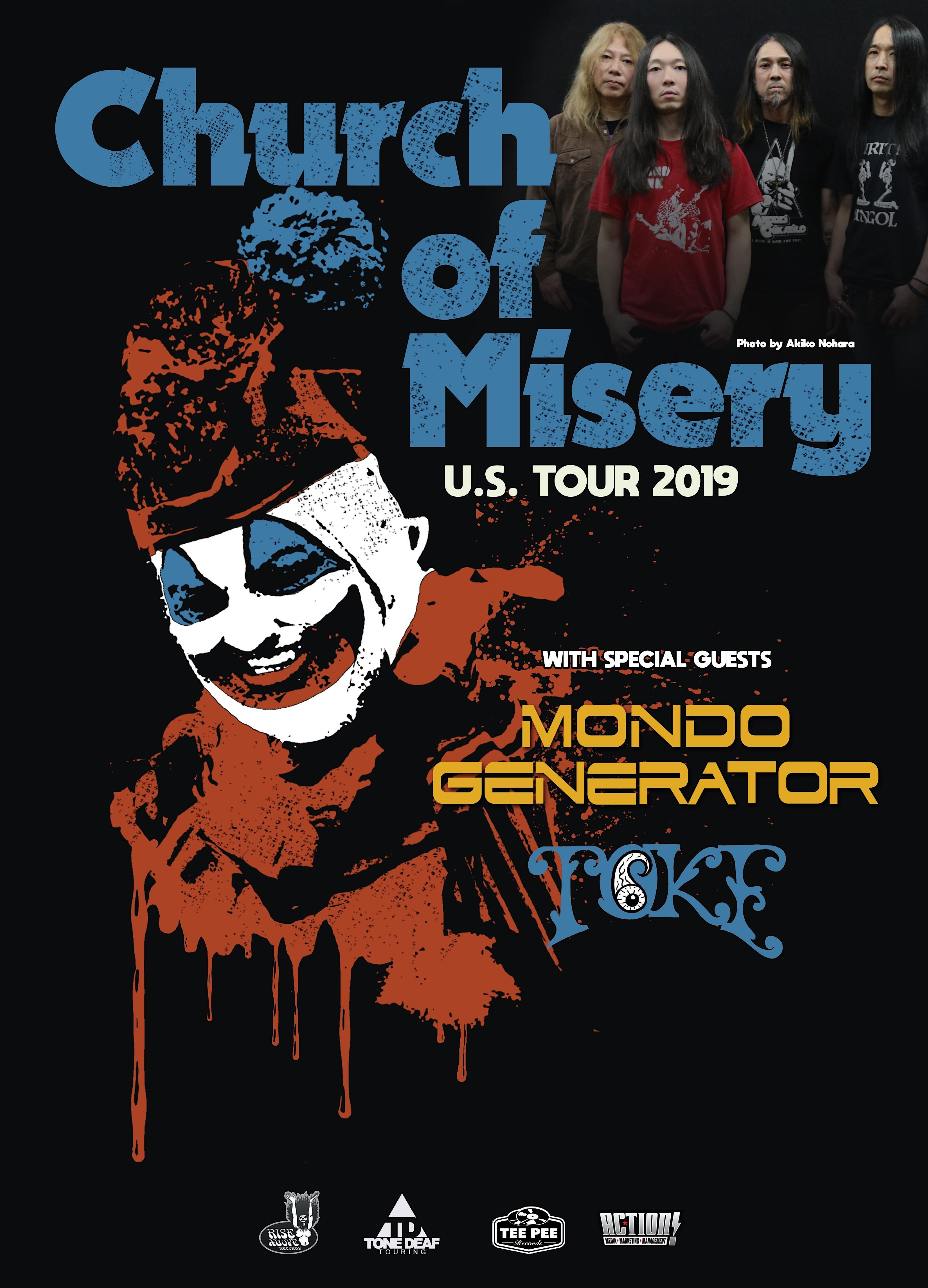 Church of Misery / Mondo Generator / Toke
