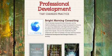 Professional Development that Changes Practice tickets