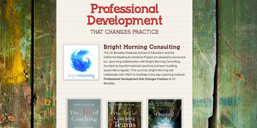 Professional Development that Changes Practice
