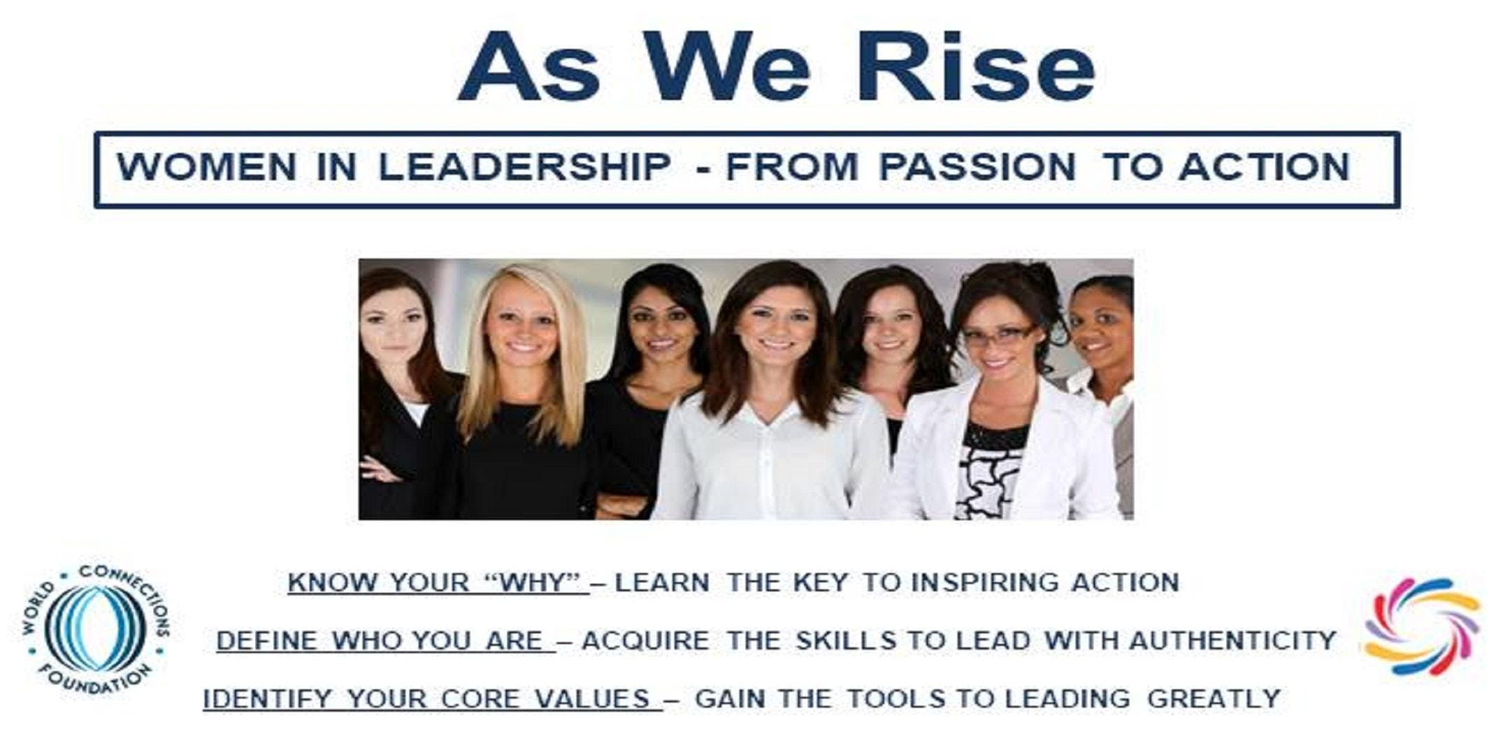 As I Rise Women's Leadership Seminar